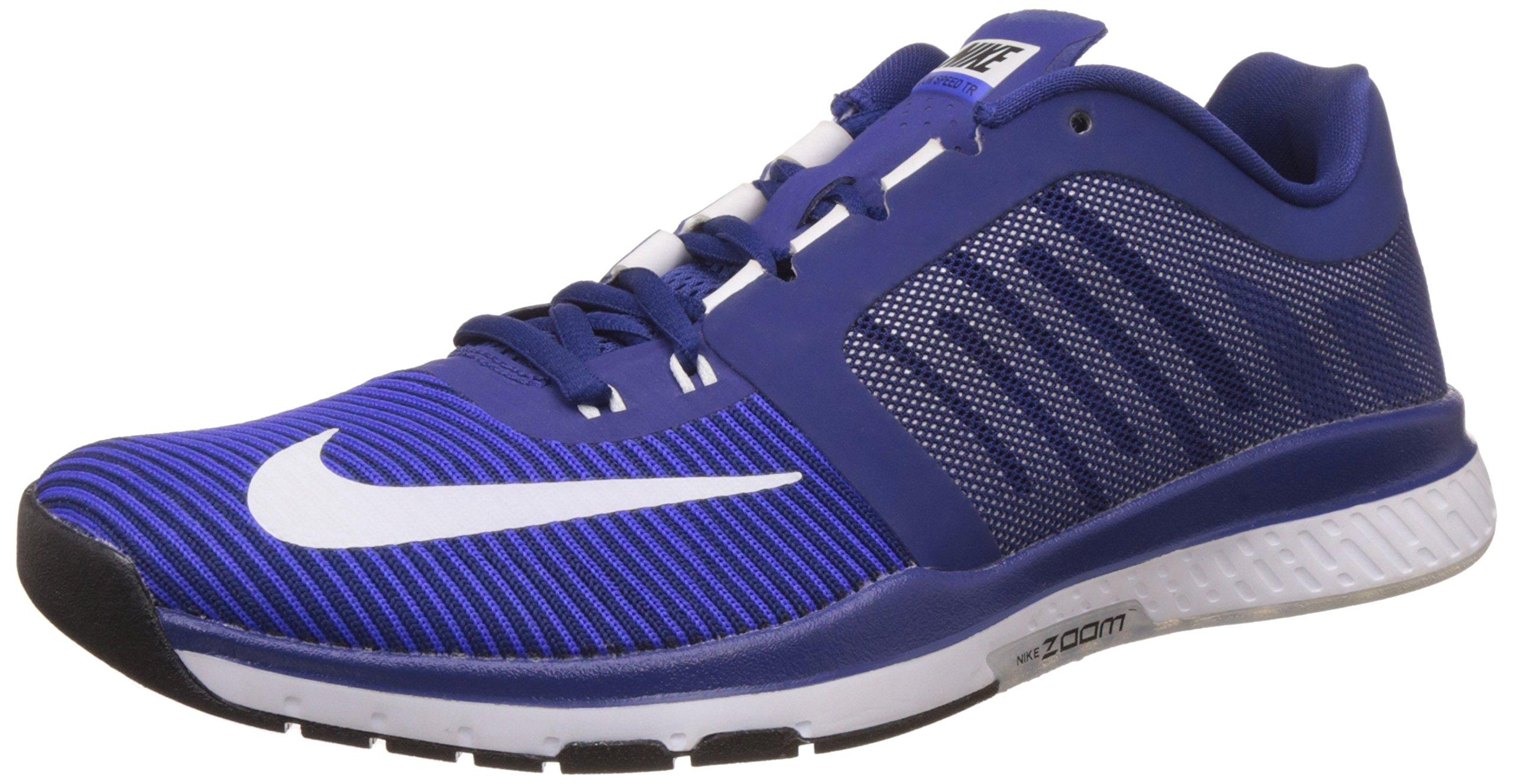 b434aa0da9417 Galleon - Nike Men s Zoom Speed TR3 Dp Royal Blue White Rcr Bl Blk Training  Shoe 8.5 Men US