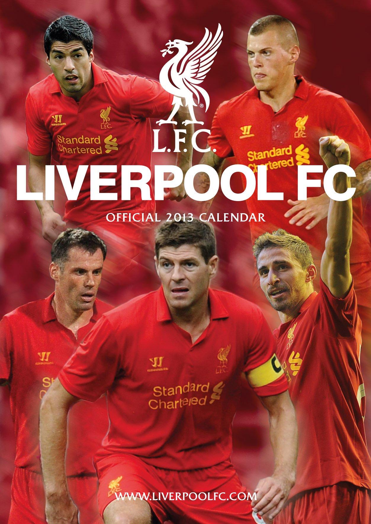 Official Liverpool FC 2013 Calendar (Calendar 2013)