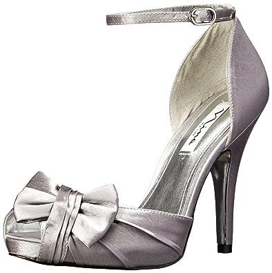 344fe885f0572d NINA Women s Ella Royal Silver ...