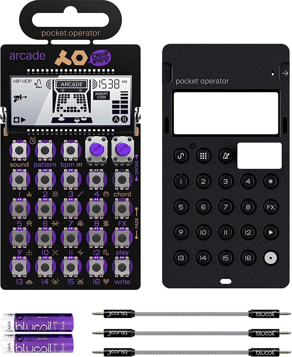 Teenage Engineering PO-20 Arcade Pocket Operator and Silicone Case Bundle