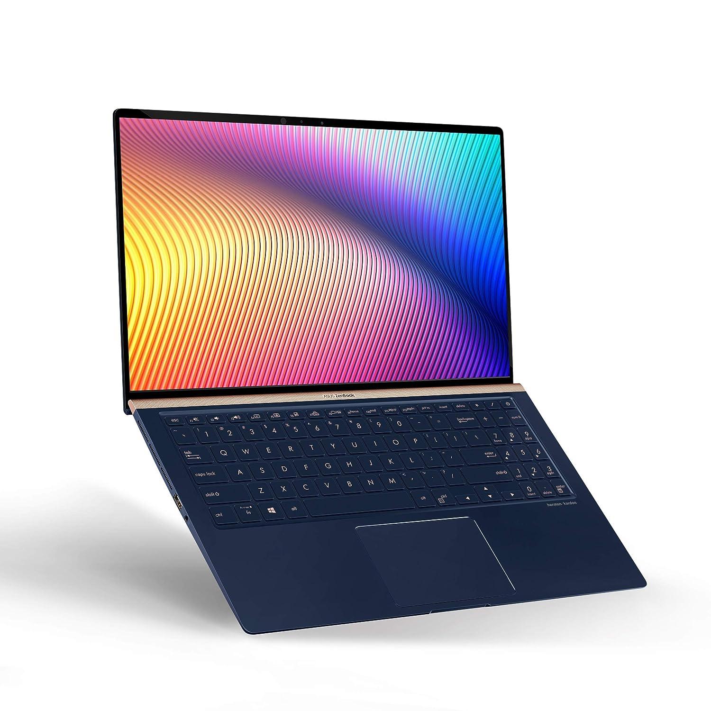 "c98752c7e Asus ZenBook 15 Ultra Slim Compact Laptop 15.6"" FHD 4-Way NanoEdge, Intel  Core i7-8565U Processor, 16GB DDR4, 512GB PCIe SSD, GeForce GTX 1050, Ir  Camera, ..."