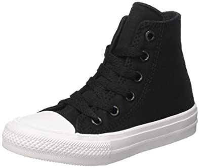 5c1f456cc7f8bd Converse Chuck Taylor All Star Ii Hi Sneaker Kid s Shoes Size 1 Black White