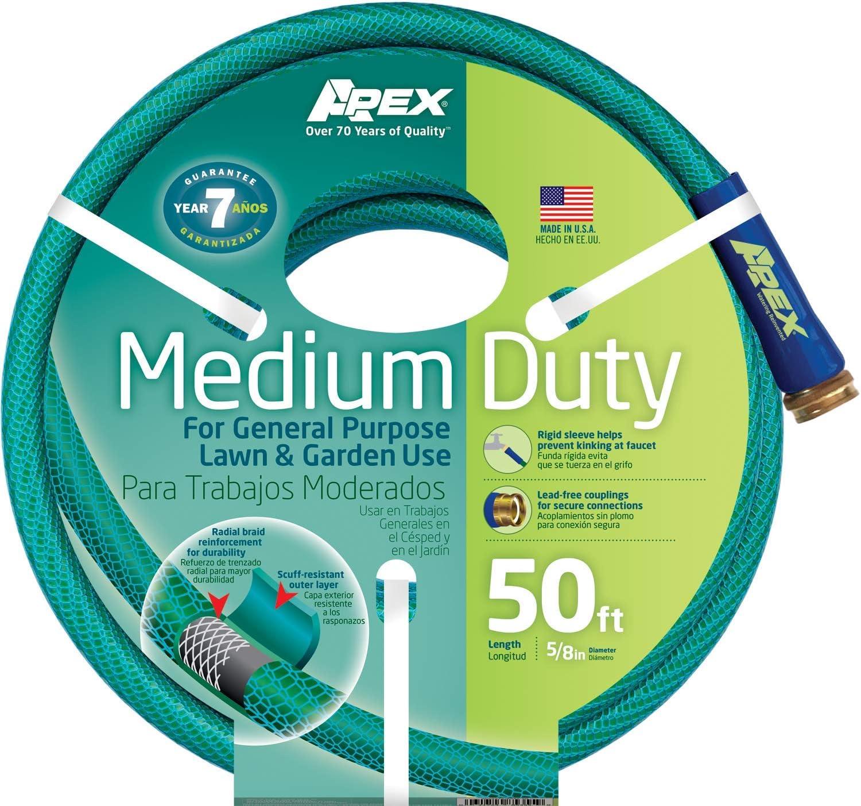 Extra Heavy Duty Garden Hose 5//8-Inch by 50-Feet Teknor Apex NeverKink 8642-50