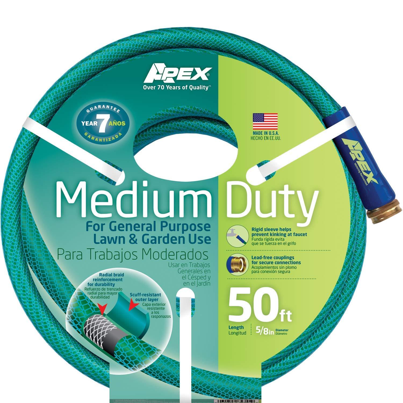 Apex, 8535-50,Medium Duty Garden Hose, 5/8-Inch by 50-Feet
