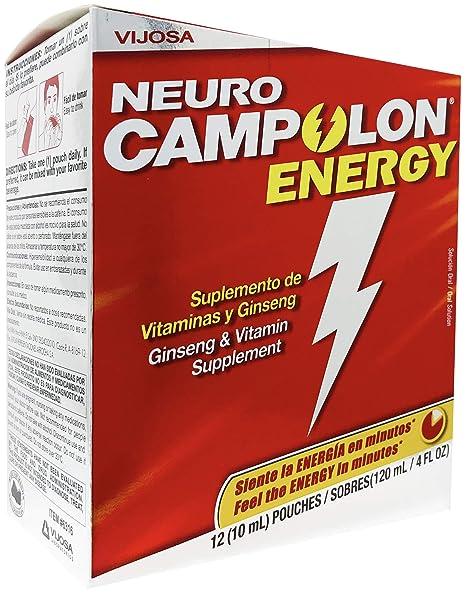 Vijosa Laboratorios Campolon Energy B Vitamin Pouches - Promotes Healthier Physical Energy and Mental Energy - 12 Pouches