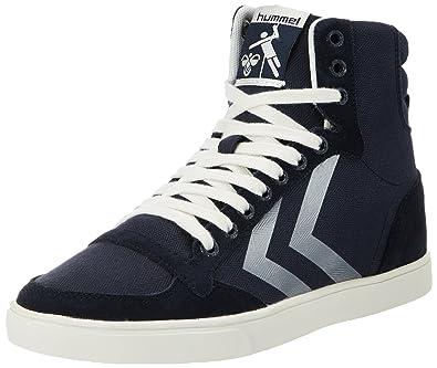 Hummel Damen SL. Stadil Herringbone Low Sneaker, Blau (Ombre Blue), 39 EU