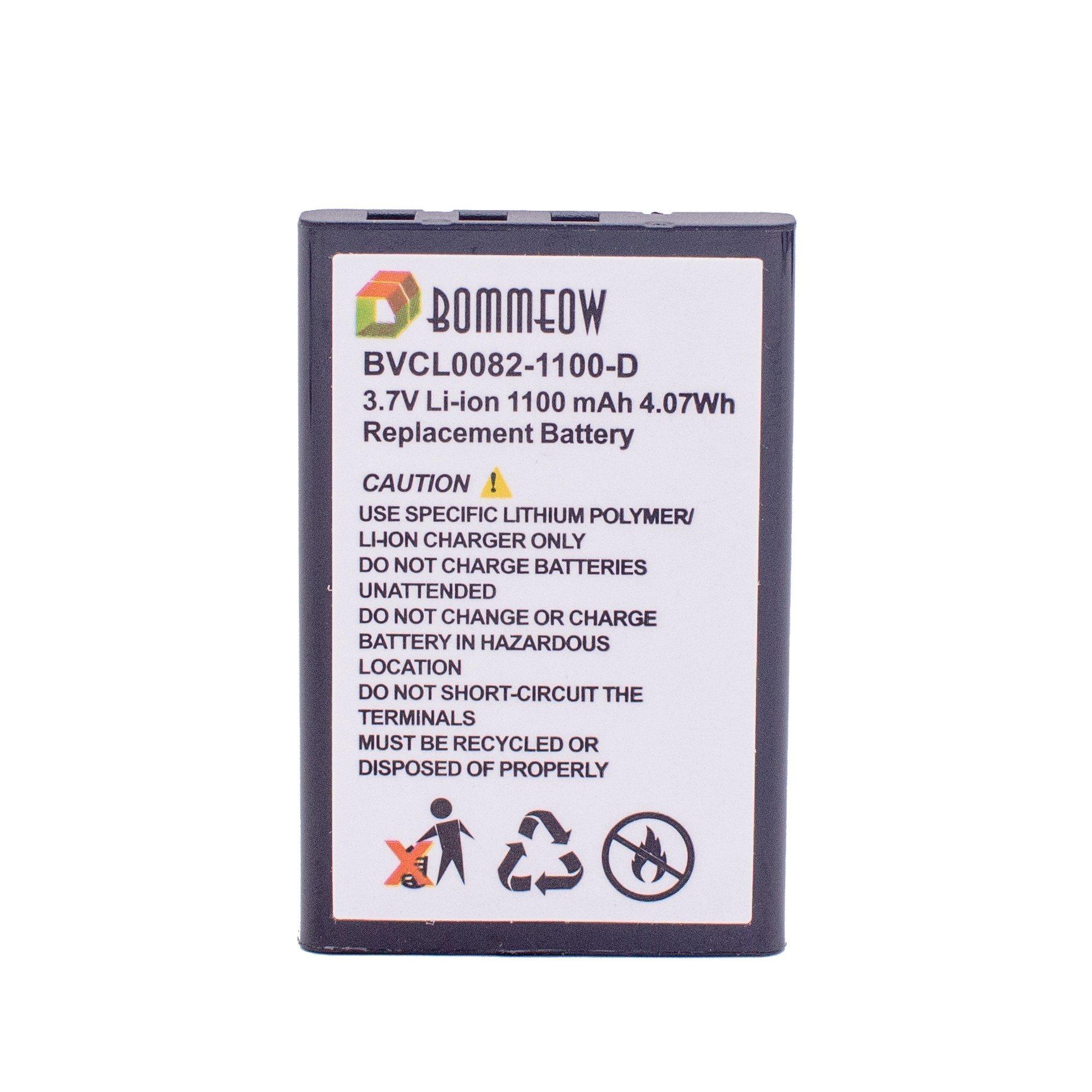 Bommeow BVCL0082-1100-D Replacement Battery for Yaesu VX-2 FT-2E VX-2R VX-3 VX-3R Radio