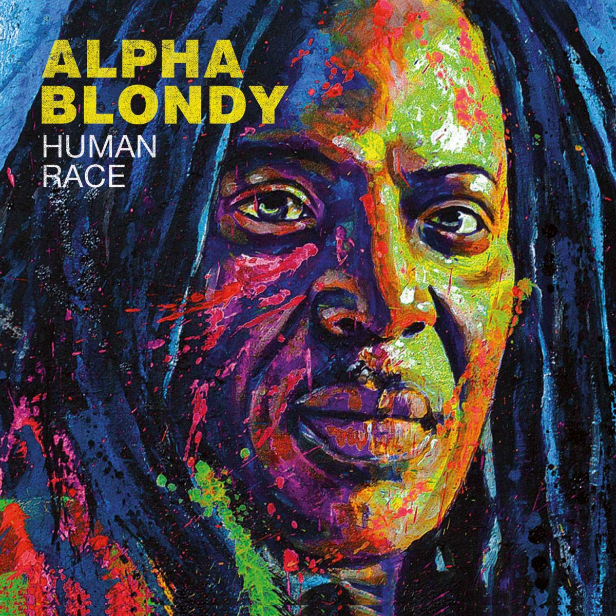 CD : Alpha Blondy - Human Race (Digipack Packaging, France - Import)