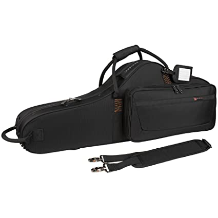 0185776d24e Amazon.com: Protec PB305CT Tenor Saxophone PRO PAC Case - Contoured  (Black): Musical Instruments