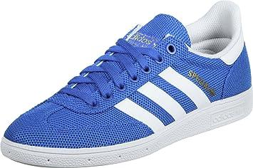 adidas Spezial Weave Schuhe 45 blue/ftwr white