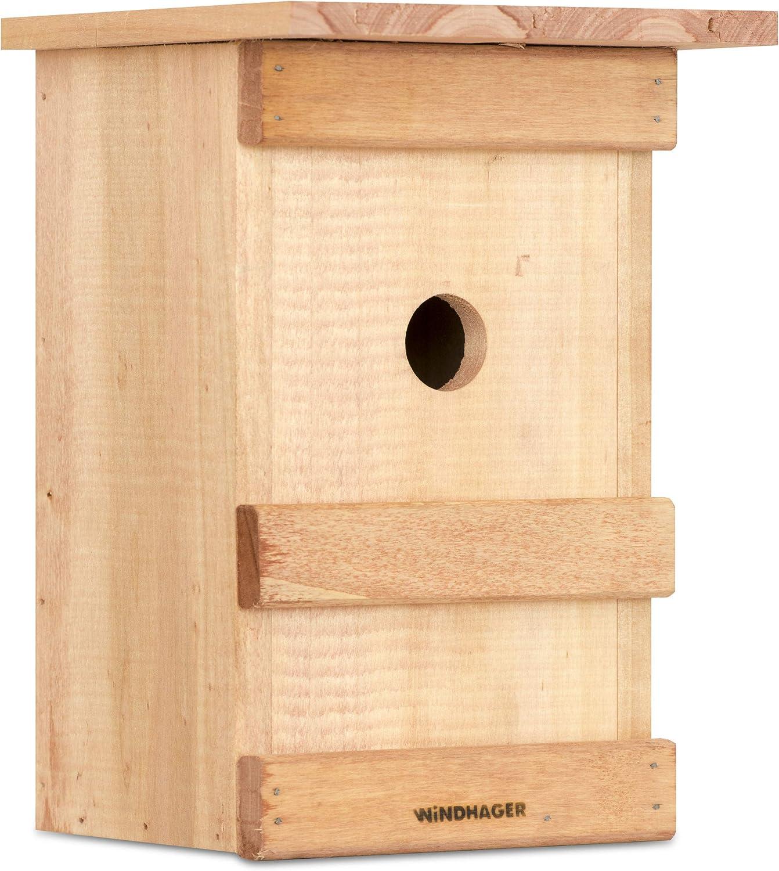 Windhager Caja pájaros Birdy, Incubadora, Ayuda para el Nido de Aves, 06961, Nature