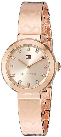 a6440e5e0c1e Tommy Hilfiger Oro Reloj Casual De Cuarzo Para Mujer (Modelo  1781715)