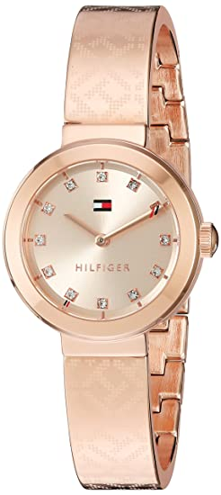 91f3be60 Image Unavailable. Image not available for. Colour: Tommy Hilfiger Women's  Quartz Gold Automatic Watch(Model: 1781715)