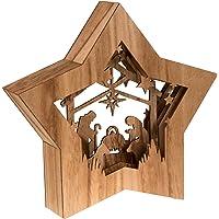 Clever Creations - Estrella de Navidad con un