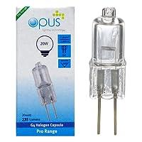 Lot de 6 ampoules Halogènes G4 12v 20w