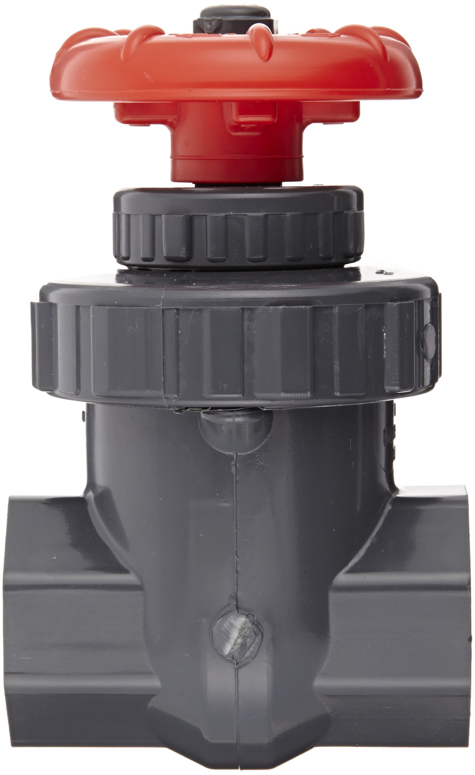 Spears PVC Gate Valve, Non-Rising Stem, Buna-N O-Ring, 1'' NPT Female by Spears Manufacturing (Image #2)