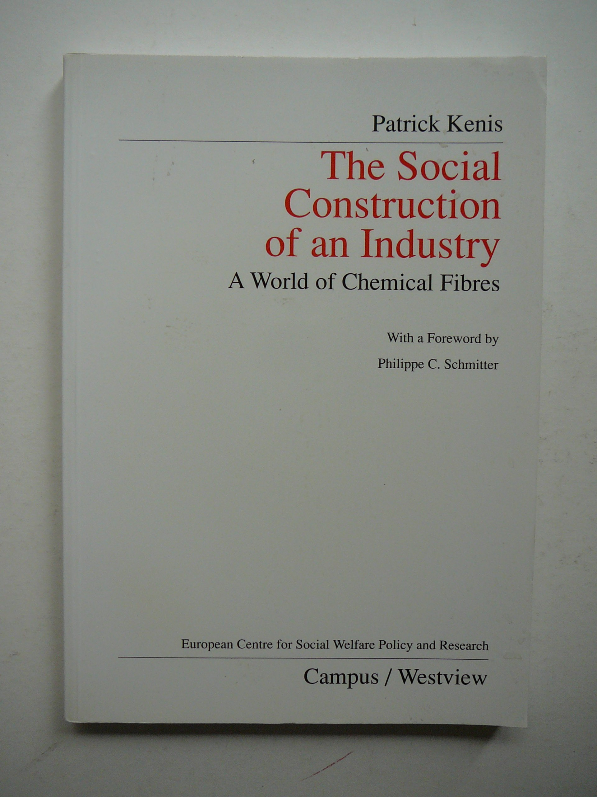 Buy The Social Construction Of An Industry A World Of Chemical Fibres Public Policy And Social Welfare Book Online At Low Prices In India The Social Construction Of An Industry A