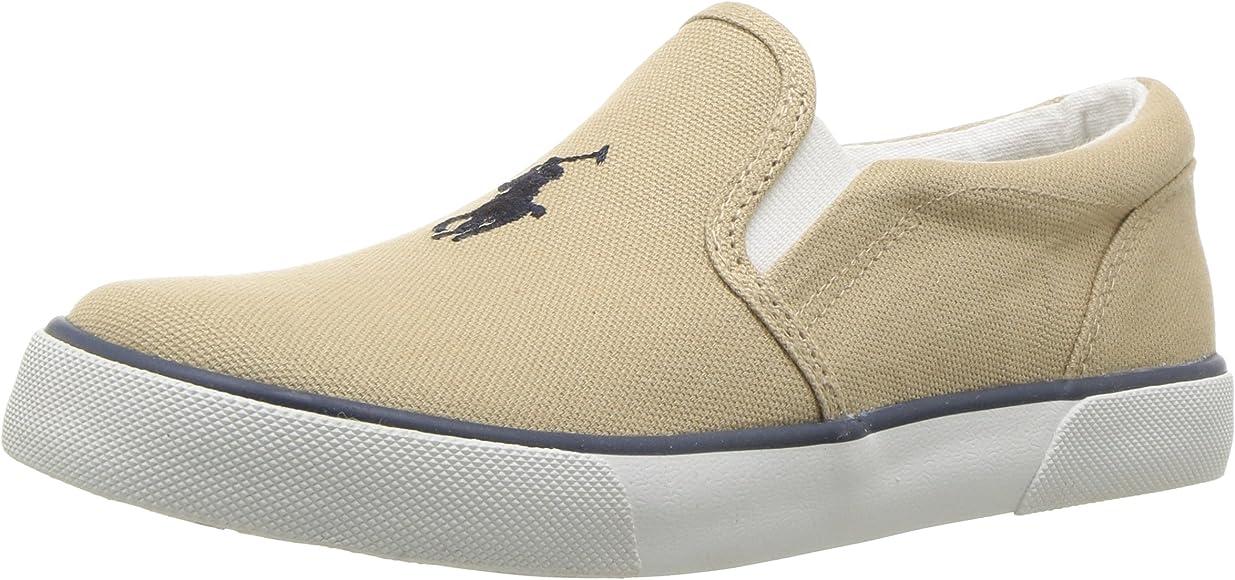 Polo Ralph Lauren Toddler Boy/'s Bal-Harbour-II Navy//Multi Sneakers Shoes