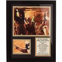 """Legends Never Die """"Star Wars: El Ataque de los Clones acción Foto enmarcada Collage, 27,94 cm x 35,56 cm"""