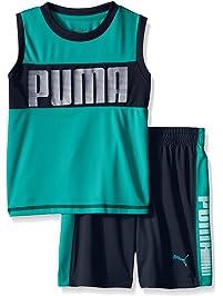 PUMA Boys' 9 Muscle Short Set