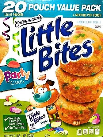 Entenmanns | Little Bites | Pasteles de fiesta | 20 bolsas ...