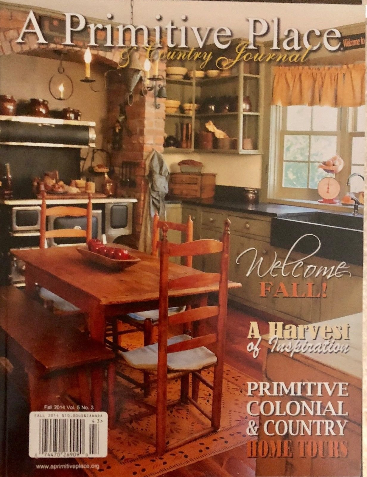 A PRIMITIVE PLACE & COUNTRY JOURNAL FALL 2014 VOL.5 NO.03** by Generic (Image #1)