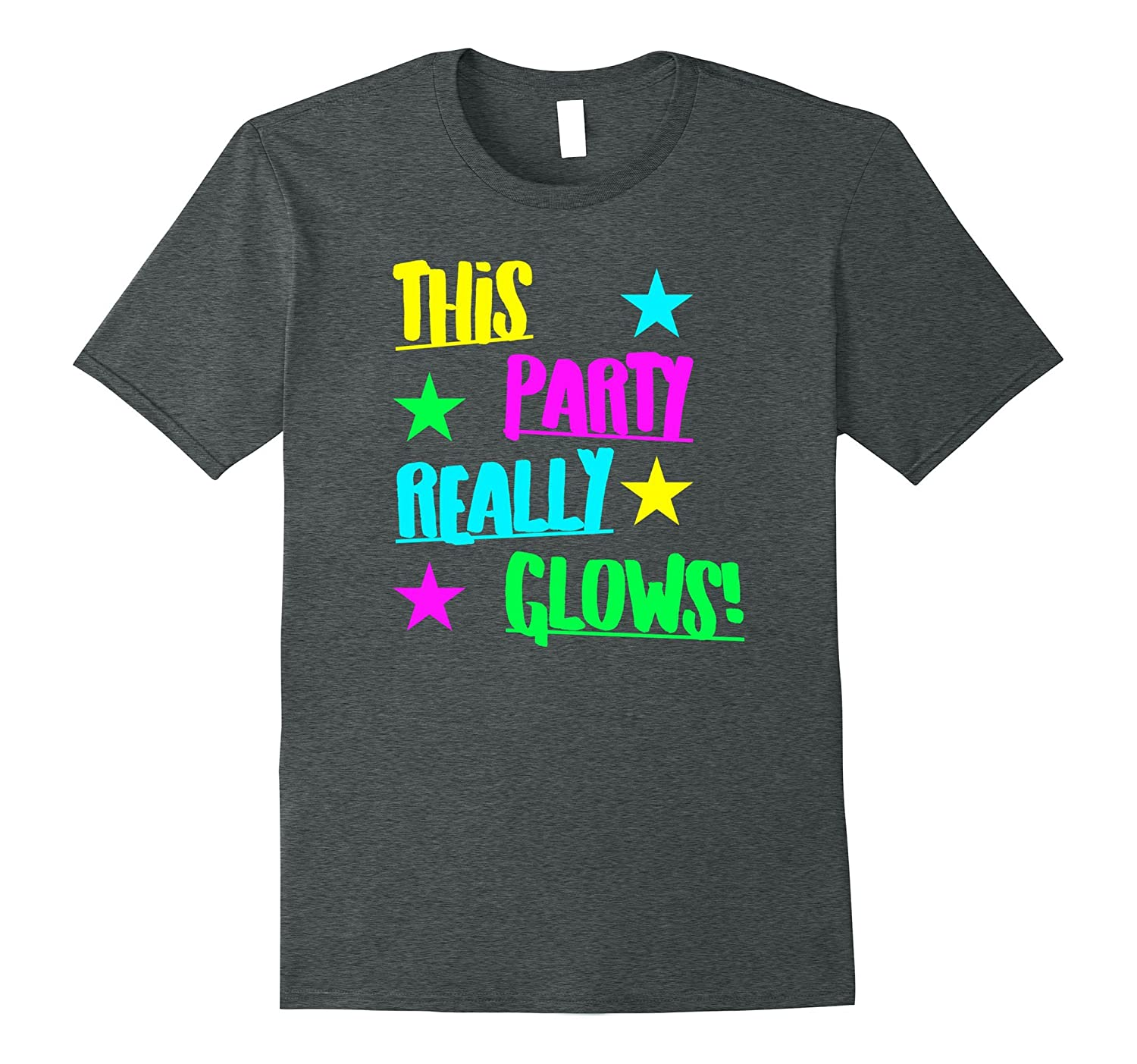 This Glow Party Really Glows Kids Birthday Gift T Shirt-FL