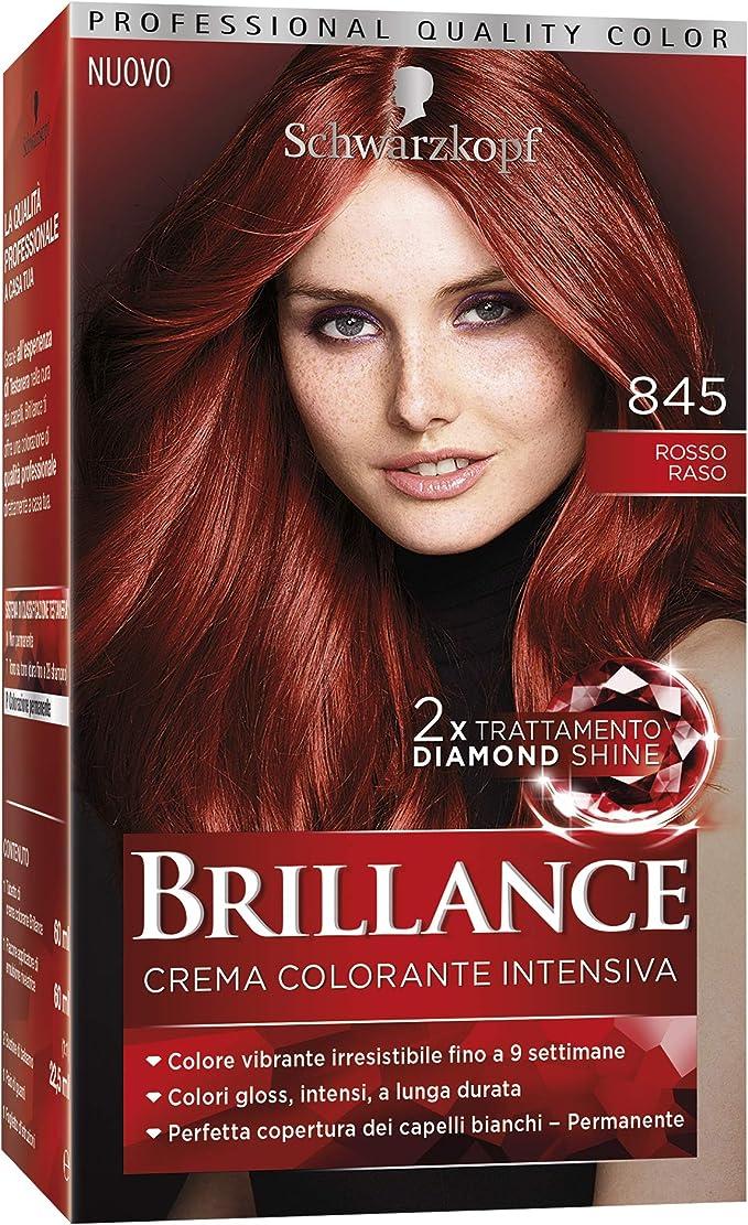 TESTANERA Brillantez 845 satén rojo - tintes para el cabello ...