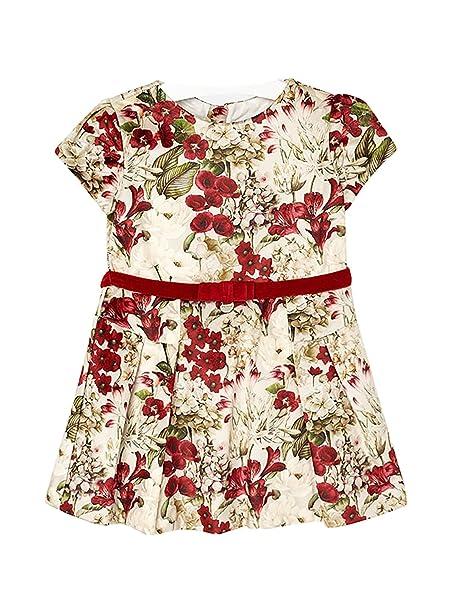 Mayoral 18-04948-070 - Vestido para niña 2 años