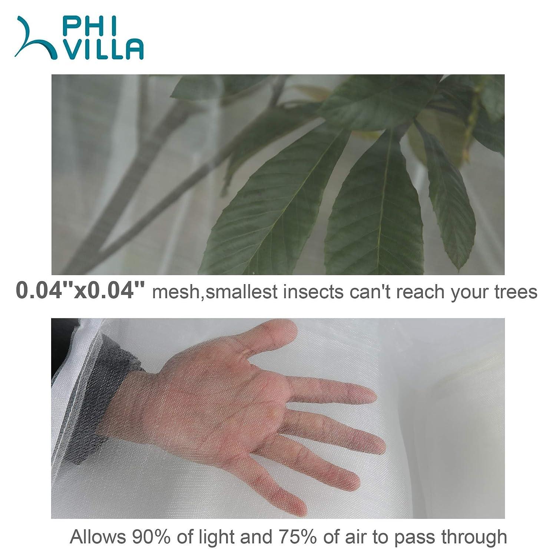PHI VILLA Malla de malla para plantas y árboles: Amazon.es: Jardín