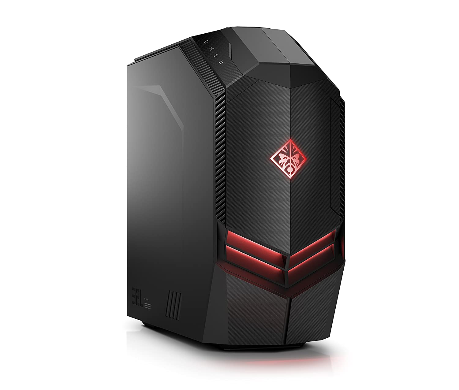 HP OMEN by Desktop PC - 880-199ng Intel Core i7-8700K 16GB RAM, 256GB M.2 NVMe SSD + 1TB HDD, GeForce RTX 2080, Win10