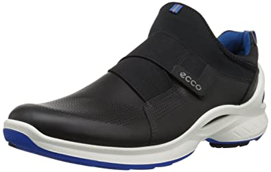 ECCO Men's Biom Fjuel Band Walking Shoe, Black/Black, 39 EU/5