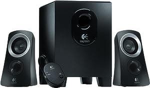 Logitech Z313 2.1 Channel Multimedia Computer Speaker System with Subwoofer (Renewed)