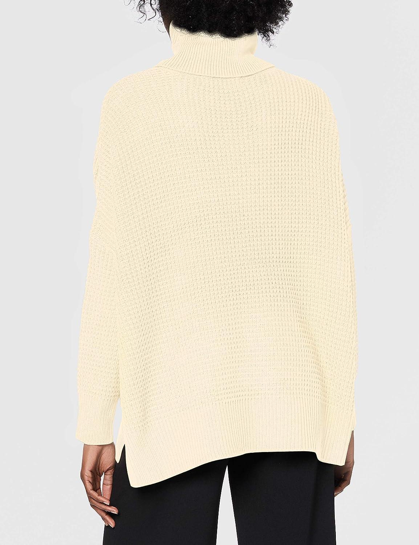 Vero Moda Womens Vmleanna Ls Cowlneck Blouse Boo Sweater