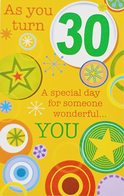 Amazon As You Turn 30 A Special Day For Someone Wonderful