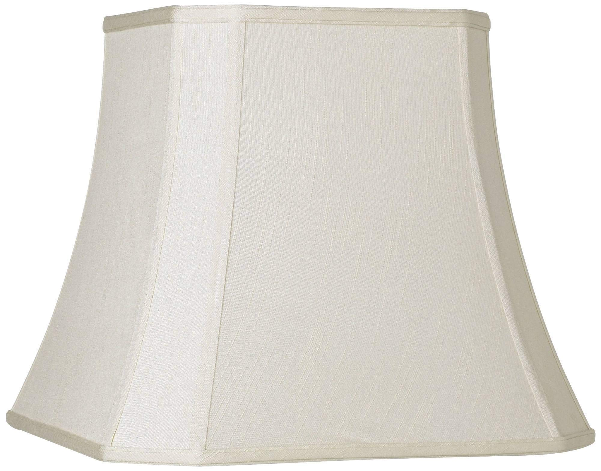 Imperial Creme Square Cut Corner Shade 10.5x16x14 (Spider) - Imperial Shade