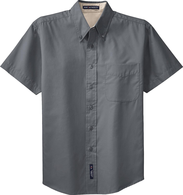Port Authority Mens Short Sleeve Easy Care Shirt