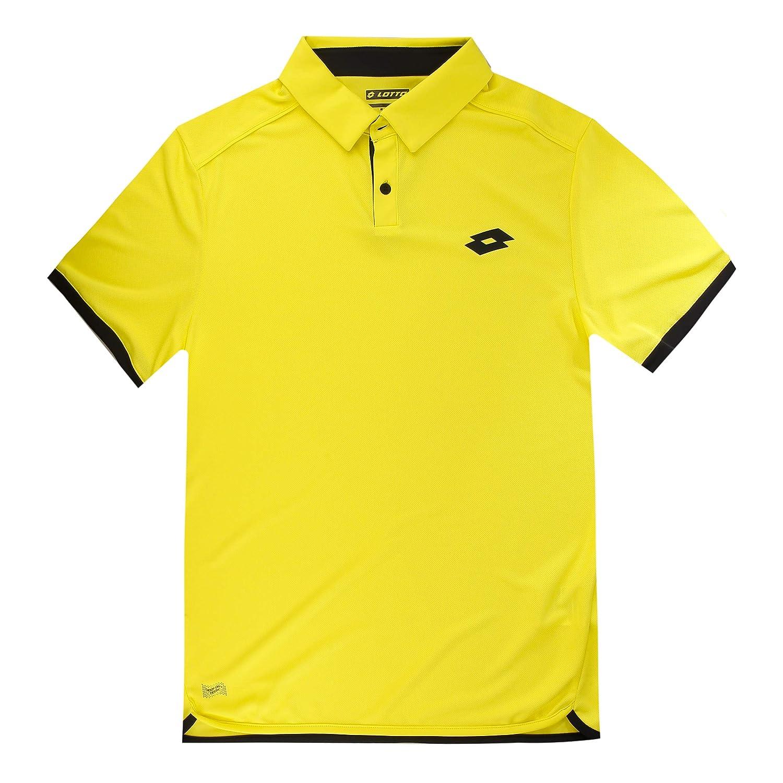 Lotto aydex – – IV Tenis Polo Amarillo S, Todo el año, Hombre ...