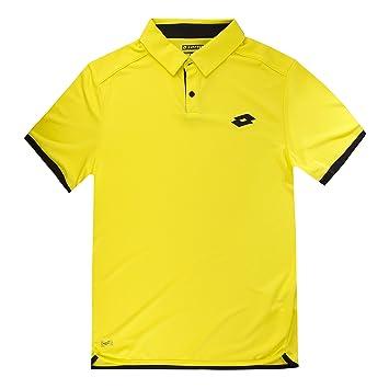 Lotto aydex - - IV Tenis Polo Amarillo S, Todo el año, Hombre ...
