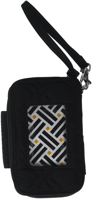 29f05d6d9e Amazon.com  Vera Bradley Smartphone Wristlet - Solids (Black)  Cell Phones    Accessories