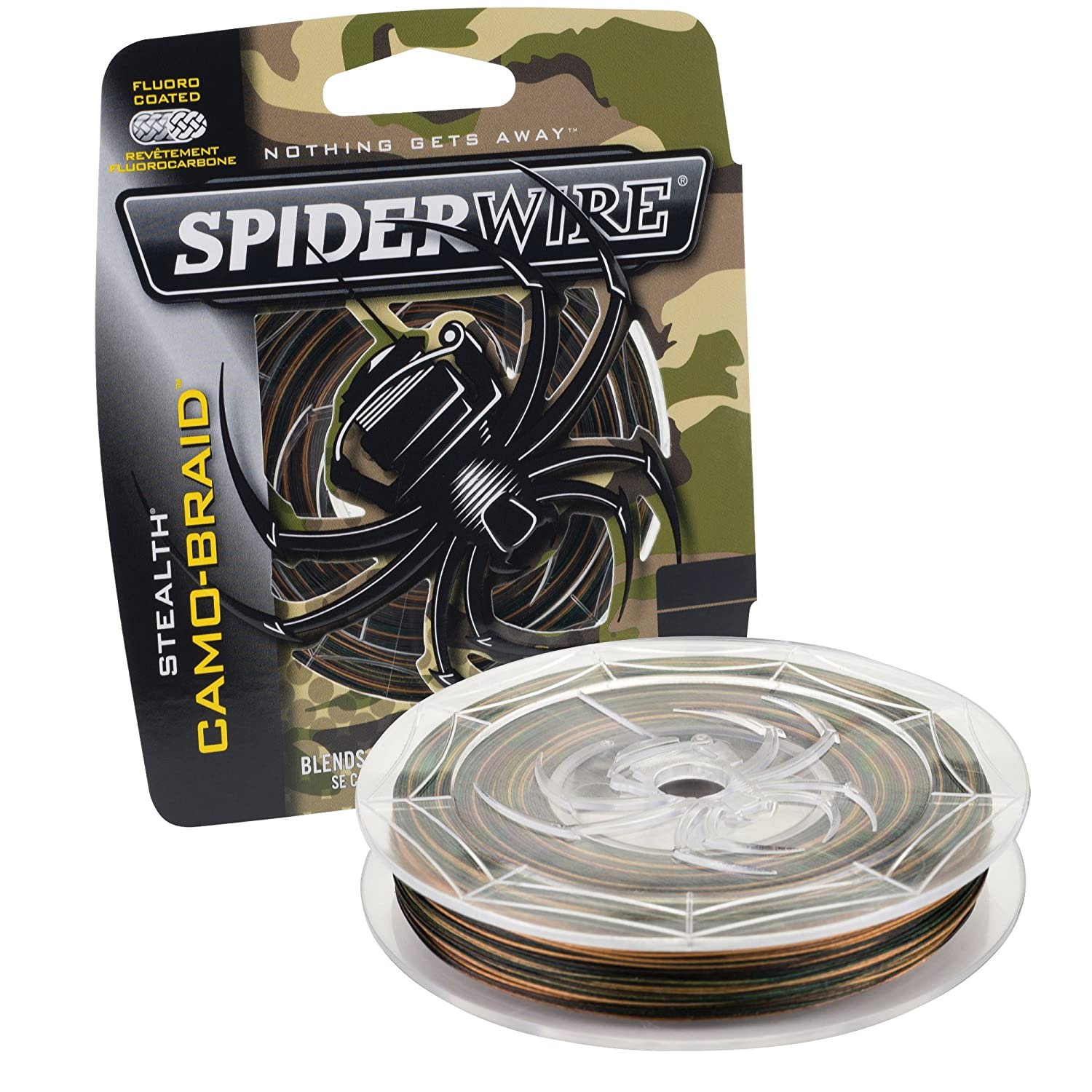 Spiderwire Braided Stealth Superline - Color Carmo.