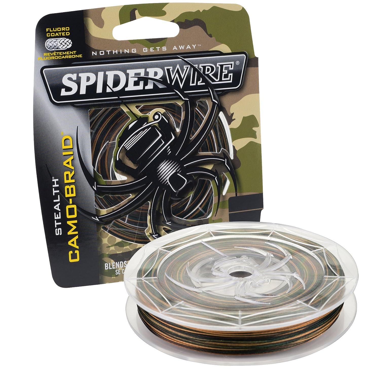 Spiderwire Braided Stealth Superline - Color Carmo.