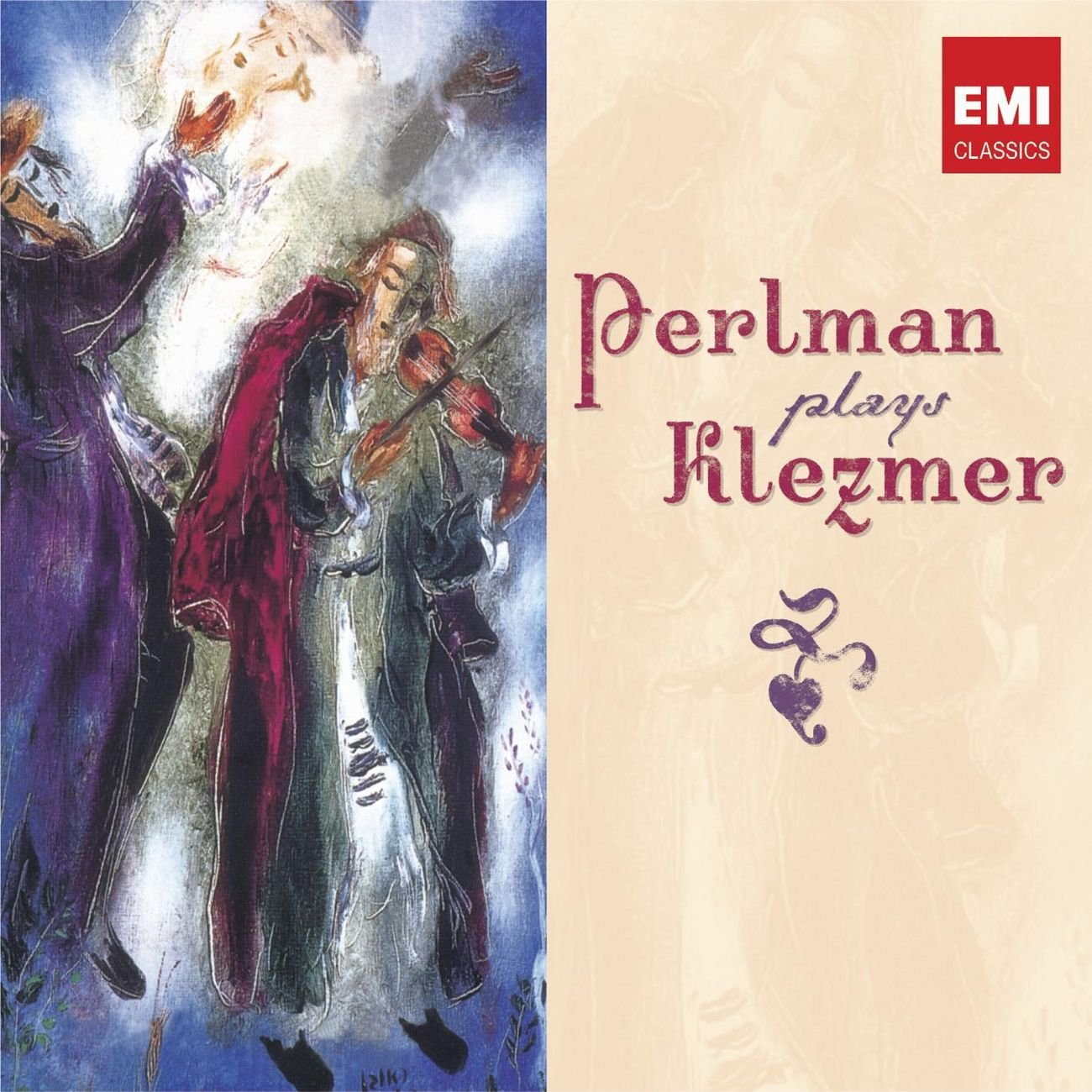 Perlman Plays Klezmer by Warner Classics