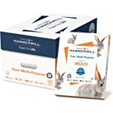 Hammermill Paper, Fore MP, 24lb, 8.5 x 11, Letter, 96 Bright, 5000 Sheets/10 Ream Case (103283C), Made In The USA