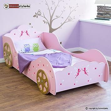 Kinderbett auto mädchen  Fee Prinzessin Kinderbett Auto Kutsche Spielbett Jugendbett ...