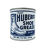 Huberd's Shoe Grease, 7.5oz: Waterproofs, Softens, Conditions Leather. Protects Shoes, Boots, Sporting Goods, Saddle…