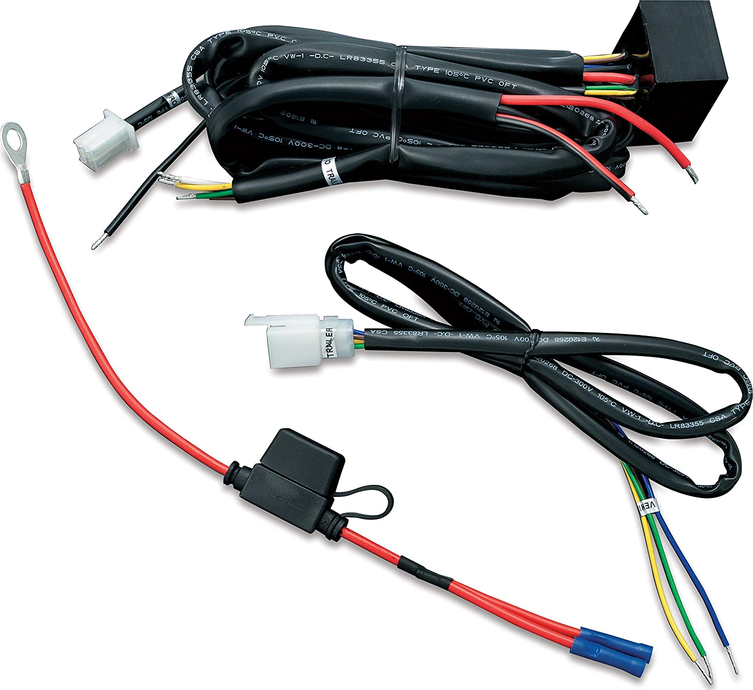 amazon.com: kuryakyn 7671 motorcycle accessory: universal trailer wiring  with relay harness for 12v applications: automotive  amazon.com