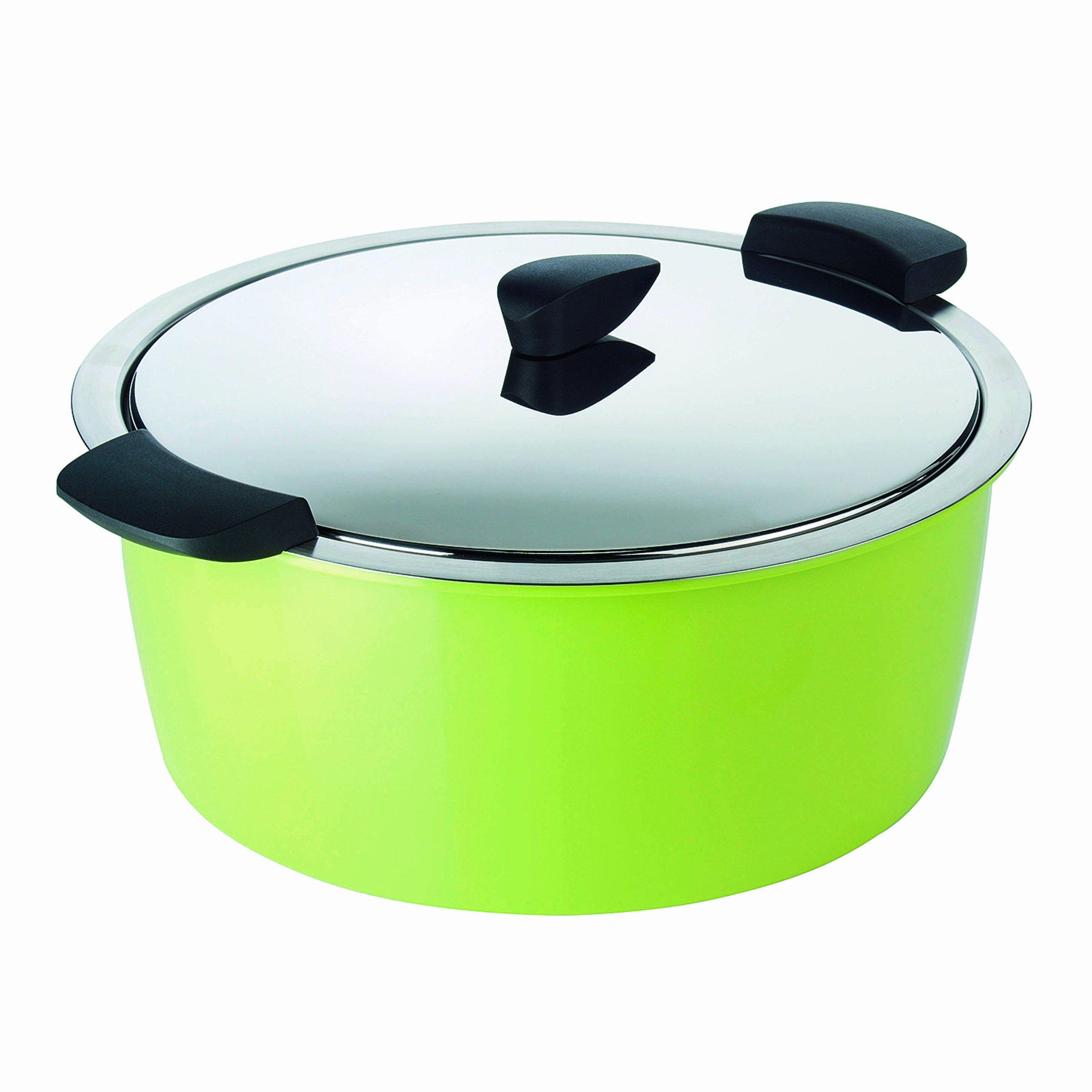 Kuhn Rikon 4.5-Quart Hotpan Braiser, Green