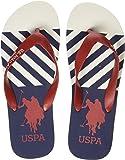 US Polo Association Men's Nic Flip Flops Thong Sandals
