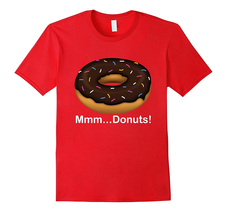 2d1e81c9 Mmm Donuts Emoji T-shirt Cool I Love Donut Tshirt-TD – theteejob